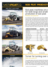 Meripeateq - Model PK - Side Tipping Peat Trailers Brochure