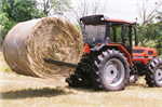 Hydra - Model 2000 - Tractor-Mount Bale Handler and Unroller
