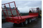 GH Engineering - Flat Bed and Bale Trailer