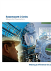 Rosemount - Model 8707 - Slurry Magnetic Flow Meter Sensors Brochure