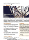 Sustainability Strategy and Reporting Executive Training Brochure