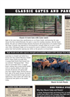 Classic Gates and Panels- Brochure