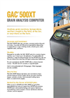 Model GAC 500XT - Grain Analysis Computer Brochure