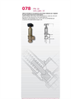 Model 078 - PN 16 - Bronze Safety/Limiting Relief Valves Brochure