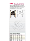 Model 045 PN6 16 CLASS 150 - Clapper Check Valves- Brochure