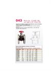 Model 043 PN 6-16 CLASS 150 - Gate Valves Brochure