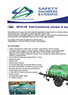 GPS12E Self Contained Shower & Eyebath Brochure