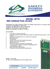 GFTS Self Contained Tank Shower Datasheet