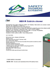 GES1R Cubicle Shower Datasheet