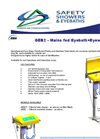 GEB2 Mains Fed Eyebath + Eyewash Brochure
