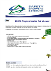 SD370 Tropical Mains Fed Shower Brochure