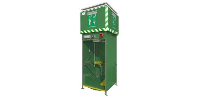 Model GFTS 12L - 15L - Tank Safety Shower