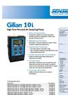 Gilian - Model 10i - High Flow Personal Air Sampling Pump (4 - 10 LPM) - Datasheet