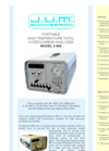 Model 3-800 - Portable Heated Total Hydrocarbon Analyzer - Brochure