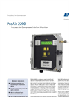 ProAir - Model 2200 - Compressed Airline Monitor - Brochure
