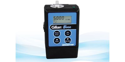 Gilian - Model 5000 - 5LPM - Personal Air Sampling Pump (20 - 5,000 cc/min)