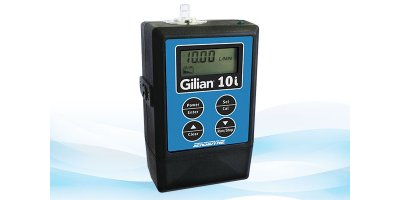 Gilian - Model 10i - High Flow Personal Air Sampling Pump (4 - 10 LPM)