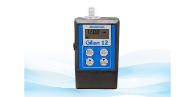 Gilian - Model 12 - High Flow Personal Air Sampling Pump (4 - 12 LPM)