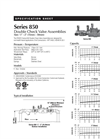 Master - Model LF856 - Double Check Detector Assemblies- Specifications Sheet
