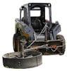The Wheel - Rotary, Ground Drive Feed Pusher