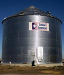 Corrugated (Wide) - Model 4.00 - Farm Grain Bins