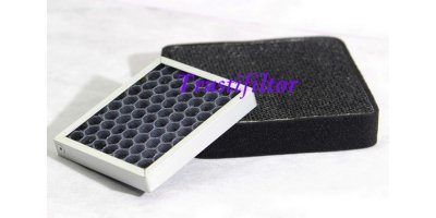 Trusty Filters - Model TFH01 - Plastic  Honeycomb  Base - Activated Carbon Filters