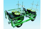 Model FAST STEP - Semi-Automatic Transplanter