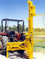Hesco - Hydraulic Post Drivers
