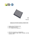 F007 Activated Charcoal Filter Datasheet