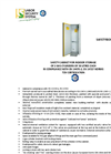 BC 650 GS - Safety Cabinet for Compressed Gas Cylinders Datasheet