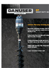 EP - Heavy Duty Auger Series Brochure