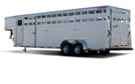 Sooner - Model SR 720, 724, 728 - Gooseneck Livestock Trailer