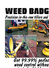 Weed Badger - Precision In-The-Row Tillers and Mowers Catalogue