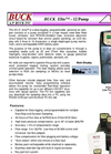 Buck Elite - 12 Pump 3-12 LPM 230V - Data Logging, Programmable Personal Air Sampler Brochure