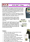 Buck Elite - 5 Pump 5-6000cc/min 230V - Data Logging, Programmable Personal Air Sampler Brochure