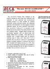 Mini-Buck - M-1, M-5, M-30 - Primary Flow Calibrator Brochure