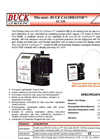 Mini-Buck - Model M-30B - Primary Flow Calibrator Brochure