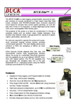 BUCKElite - 1 Pump 5-600cc/min 230V - Data Logging, Programmable Personal Air Sampler Brochure