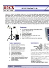 Buck LinEair - 40 LPM, 230 VAC - Air Sampling Pump Brochure