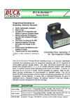 BUCK BioSlide - Model B1020 - Controlled Flow Sampling Pump for Gel-Impaction Slides Brochrue
