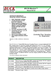 Buck BioAire - B520 - Bioaerosol Sampling Pump Brochure