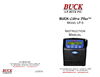 Buck Libra Plus - Model LP-5 - Personal Air Sampler - Instruction Manual
