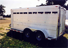 Alum-Line - Commercial Bumper Pull Livestock Trailers
