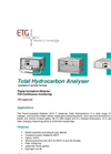 TG - Model FID - Emission Monitoring Analyzers System - Brochure