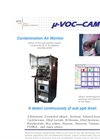 ETG μ-VOC CAM - AMC Contamination Monitoring in Semiconductor Cleanroom - Brochure