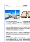 ETG - Model 6700 - Wobbe Index Analyzer BTU and Calorimeters - Brochure