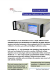 ETG - Model CALG 100 - Dynamic Calibration System - Brochure
