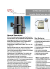 ETG - Model SS TDL 100 - Tunable Diode Laser Spectrometry (TDLS) Gas Analyzer - Brochure