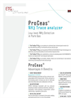 ETG ProCeas NH3 Trace Analyzer - Brochure