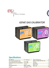 GENie Calibration Gas Generators - Brochure